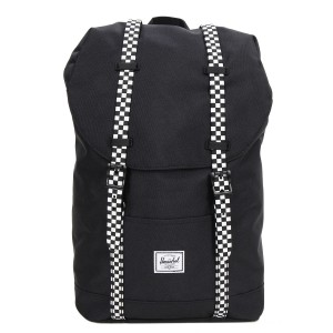 Herschel Sac à dos Retreat Mid-Volume black/checkerboard vente