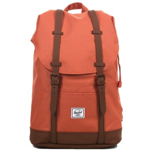 Herschel Sac à dos Retreat Mid-Volume apricot brandy/saddle brown vente