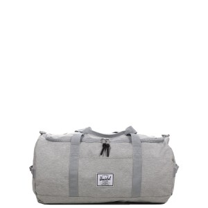 Vacances Noel 2019 | Herschel Sac de voyage Sutton 59 cm light grey crosshatch vente
