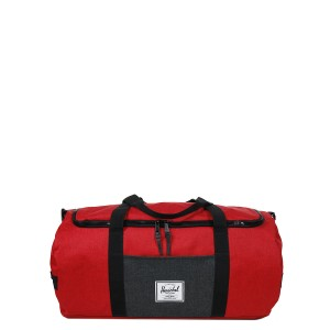 Herschel Sac de voyage Sutton 59 cm barbados cherry crosshatch/black crosshatch vente