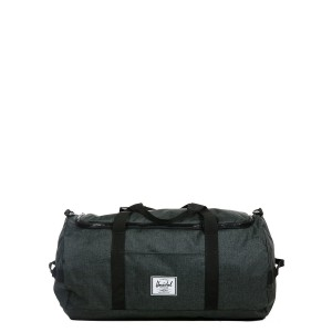 Herschel Sac de voyage Sutton 59 cm black crosshatch/black rubber vente