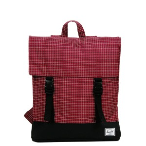 [Black Friday 2019] Herschel Sac à dos Survey windsor wine grid/black vente