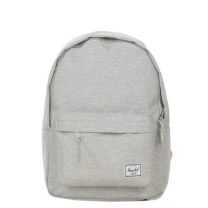 Herschel Sac à dos Classic Mid-Volume light grey crosshatch vente