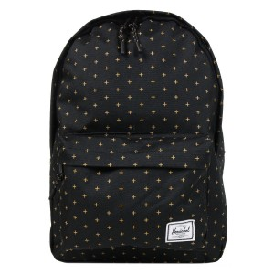 [Black Friday 2019] Herschel Sac à dos Classic Mid-Volume black gridlock gold vente