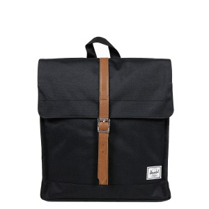 Herschel Sac à dos City Mid-Volume black/tan vente