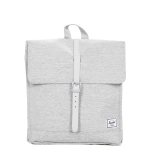 Black Friday 2020 | Herschel Sac à dos City Mid-Volume light grey crosshatch vente