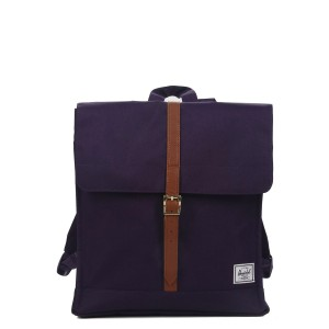 Herschel Sac à dos City Mid-Volume purple velvet vente