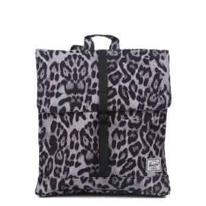 Herschel Sac à dos City Mid-Volume snow leopard/ black vente