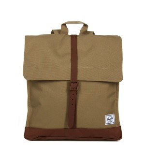 Herschel Sac à dos City Mid-Volume kelp/saddle brown vente