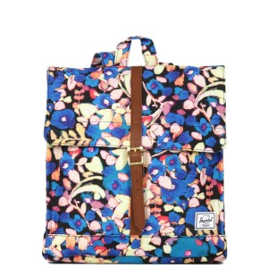 Vacances Noel 2019 | Herschel Sac à dos City Mid-Volume painted floral vente