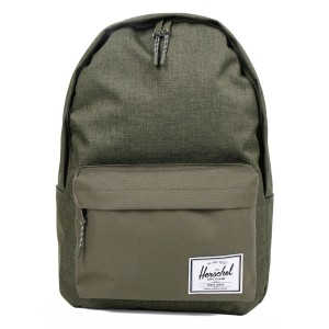 Herschel Sac à dos Classic XL olive night crosshatch/olive night vente