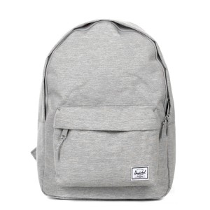 Herschel Sac à dos Classic light grey crosshatch vente