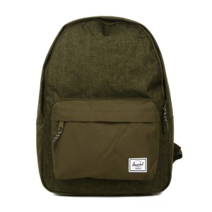Herschel Sac à dos Classic olive night crosshatch/olive night vente