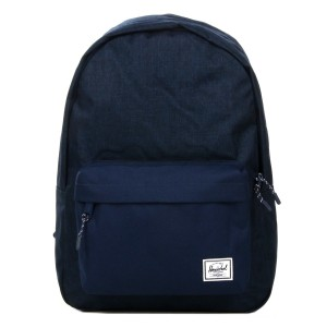 Herschel Sac à dos Classic medievel blue crosshatch/medievel blue vente