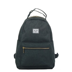 Vacances Noel 2019 | Herschel Sac à dos Nova X-Small black crosshatch vente