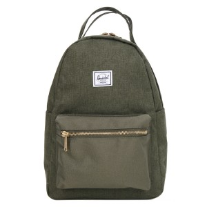 Vacances Noel 2019 | Herschel Sac à dos Nova X-Small olive night crosshatch/olive night vente