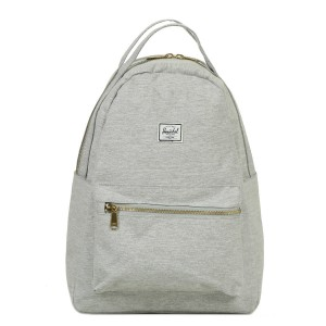 Herschel Sac à dos Nova Mid-Volume light grey crosshatch vente