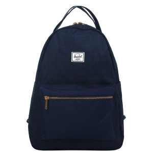 Herschel Sac à dos Nova Mid-Volume medievel blue crosshatch/medievel blue vente