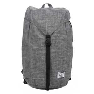 Black Friday 2020 | Herschel Sac à dos Thompson raven crosshatch vente