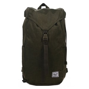 Herschel Sac à dos Thompson olive night crosshatch vente