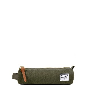 Herschel Trousse Settlement Case X-Small olive night crosshatch/olive night vente