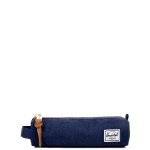 Herschel Trousse Settlement Case X-Small medievel blue crosshatch/medievel blue vente