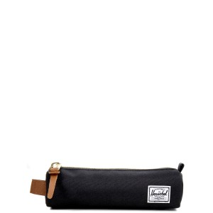 Herschel Trousse Settlement Case X-Small black/saddle brown vente