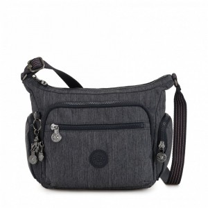 [Black Friday 2019] Kipling Petit sac bandoulière à compartiments multiples Active Denim pas cher