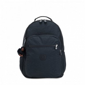 Black Friday 2020 | Kipling Grand Sac à Dos avec Protection pour Ordinateur Portable True Navy pas cher
