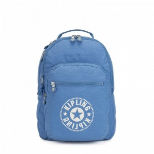 Black Friday 2020 | Kipling Sac à Dos Medium avec Compartiment pour Ordinateur Dynamic Blue pas cher