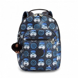 Black Friday 2020 | Kipling Petit sac à dos à imprimé Star Wars INTERSTORM pas cher