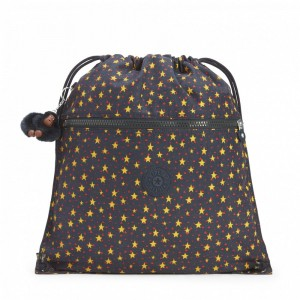 Kipling Grand Sac à Cordon Cool Star Boy pas cher