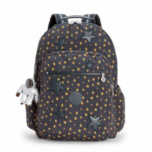 Black Friday 2020 | Kipling Grand Sac à Dos avec Protection pour Ordinateur Portable Fun Star Boy pas cher