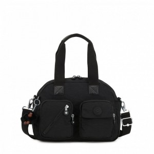 Black Friday 2020 | Kipling Medium shoulderbag (with removable shoulderstrap) True Black pas cher