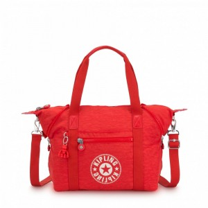 [Black Friday 2019] Kipling Sac Cabas avec Sangle Détachable Active Red NC pas cher