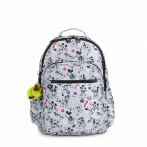 Black Friday 2020 | Kipling Grand sac à dos avec protection pour laptop Sketch Grey pas cher