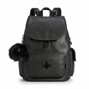 Black Friday 2020 | Kipling Sac à Dos City Black Foam pas cher