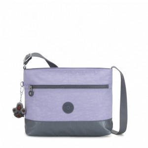 Vacances Noel 2019 | Kipling Medium crossbody Active Lilac Cb pas cher