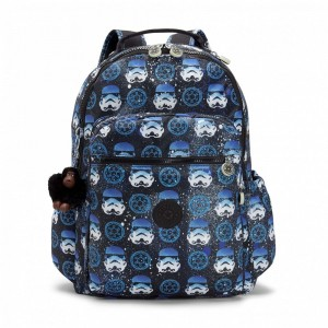 Kipling Grand sac à dos à imprimé Star Wars INTERSTORM pas cher
