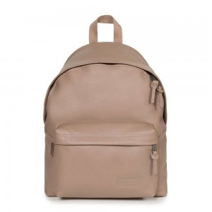 [Black Friday 2019] Eastpak Padded Pak'r® Taupe Leather livraison gratuite