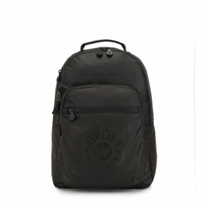 Black Friday 2020 | Kipling Sac à Dos Medium avec Compartiment pour Ordinateur Raw Black pas cher