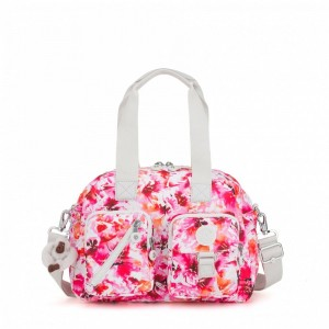 Vacances Noel 2019 | Kipling Medium shoulderbag (with removable shoulderstrap) Floral Poetry pas cher