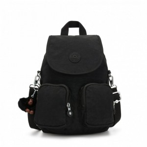 Black Friday 2020 | Kipling Petit sac à dos transformable en sac à bandoulière True Black pas cher