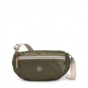 Black Friday 2020 | Kipling Petit sac à bandoulière avec bretelle réglable Elevated Green pas cher