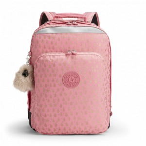[Black Friday 2019] Kipling Grand Sac à Dos Avec Protection Pour Ordinateur Portable Pink Gold Drop pas cher