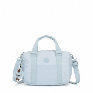 Kipling Medium handbag Fainted Blue pas cher