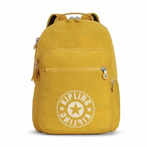 [Black Friday 2019] Kipling Sac à Dos Medium avec Compartiment pour Ordinateur Lively Yellow pas cher