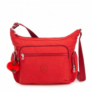 [Black Friday 2019] Kipling Sac épaule Medium Avec Bretelle Ajustable Active Red pas cher