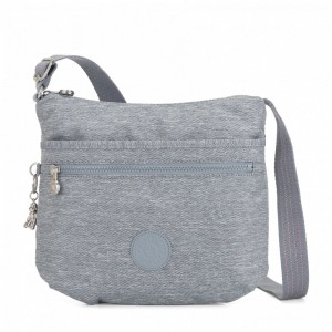 Kipling Medium crossbody Cool Denim pas cher