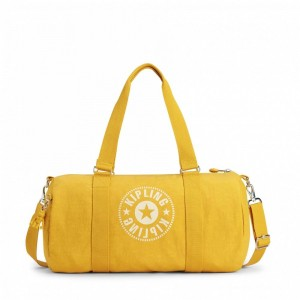 Black Friday 2020 | Kipling Sac Polochon Polyvalent Lively Yellow pas cher